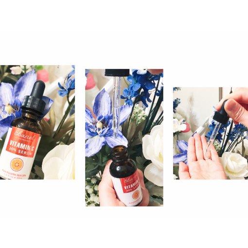 【微众测】Ebanel 天然 美白 维C 小棕瓶
