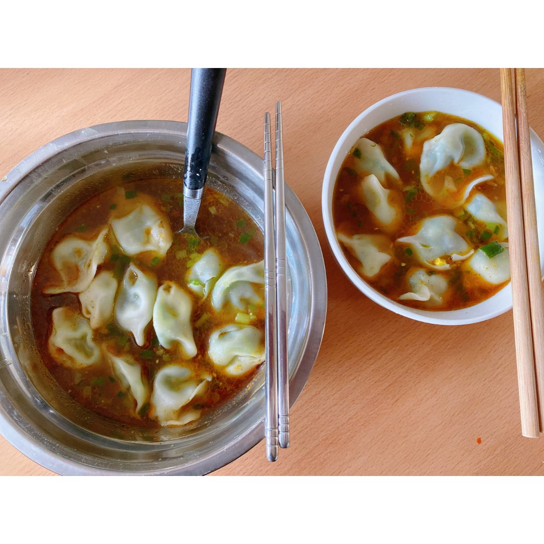 对胃🥙|酸汤水饺,过年果然不能缺🥟...