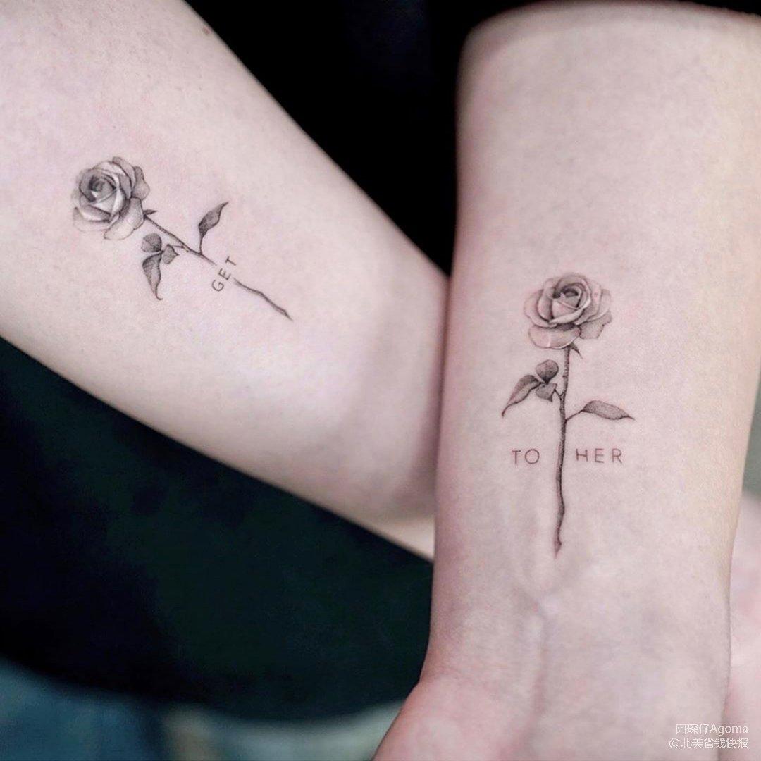 情节人快乐~情侣纹身来一发!