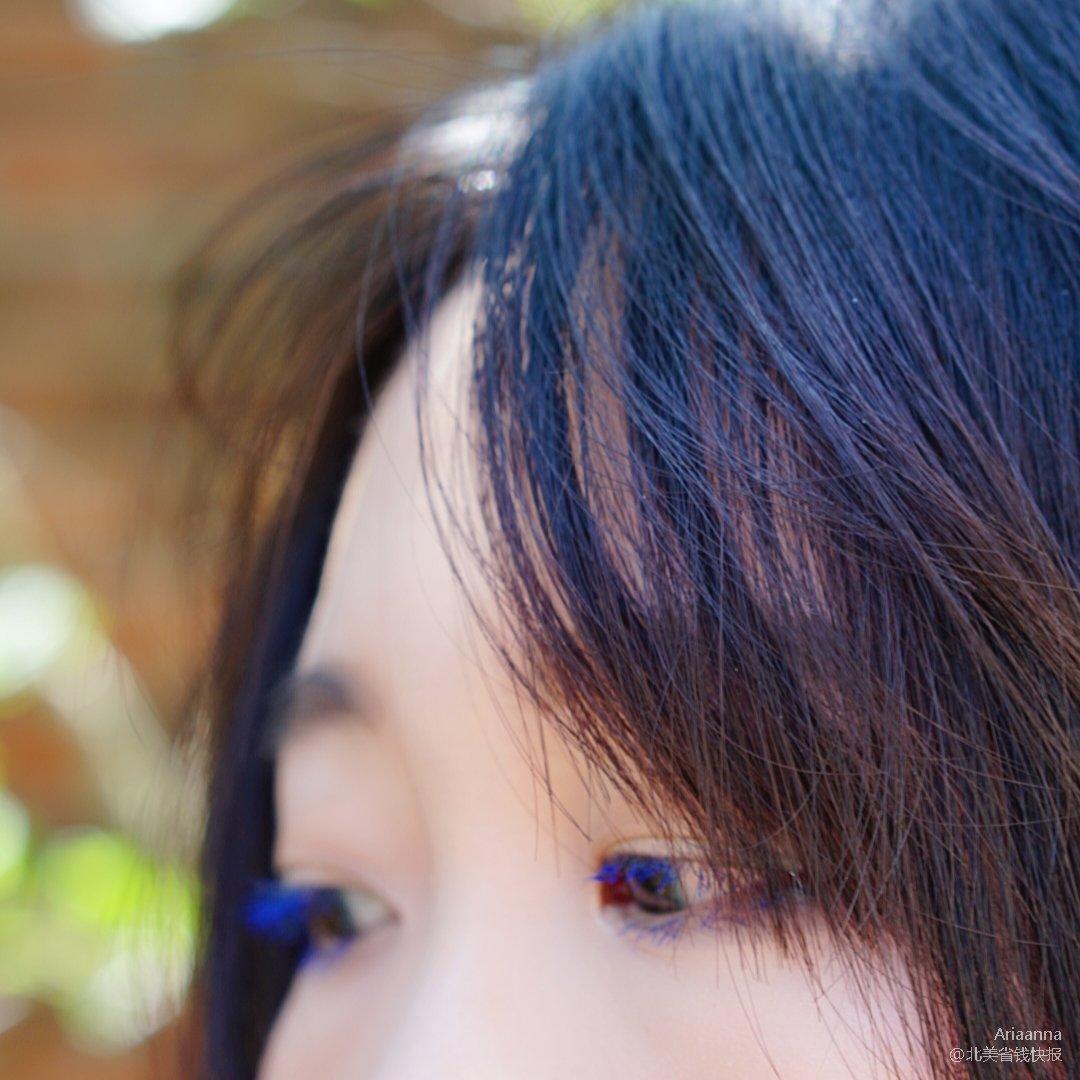 夏天了,来点儿蓝色睫毛膏吧