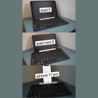 罗技便携蓝牙键盘 终于给iPad min...