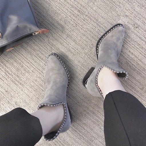 Alexander Wang 珠珠断根短靴
