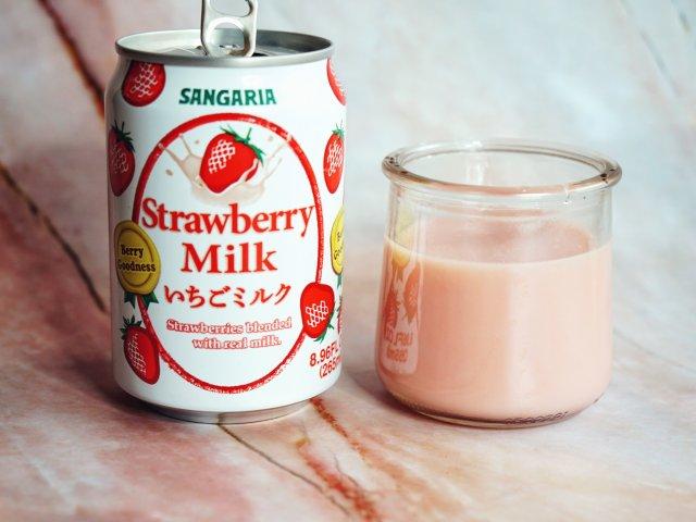 日超买什么?Sangaria草莓奶~