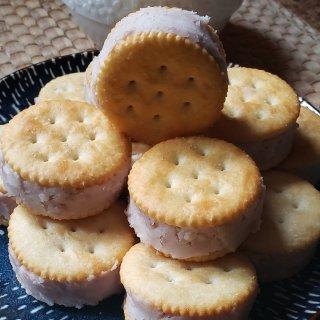 中秋佳节之---芋头夹心饼干...