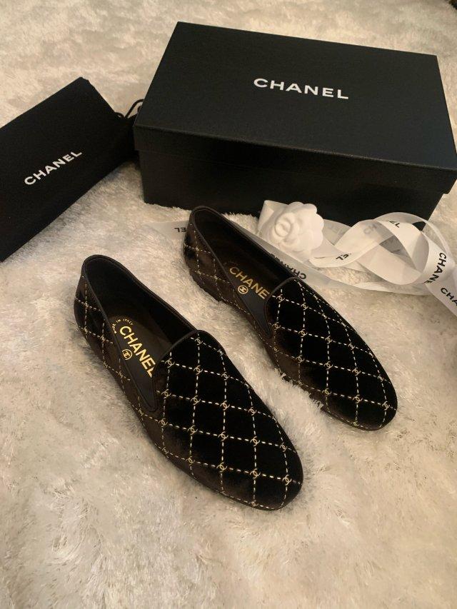 chanel 奶奶鞋