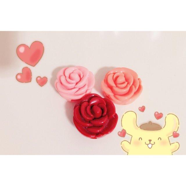🌹𝟯𝗖𝗘   玫瑰花朵唇膏✨试色篇✨