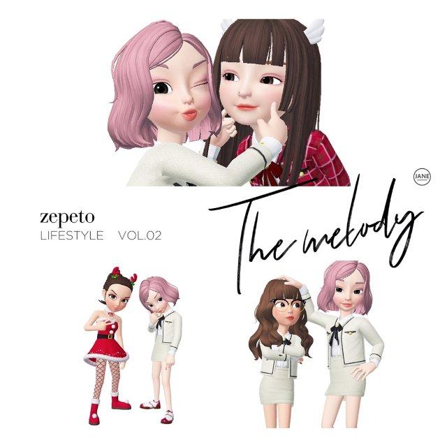 zepeto | 捏个娃娃一起过圣诞🎉