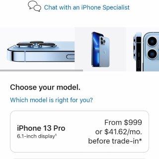 我是怎樣選擇蘋果13的, 有一點詳細...