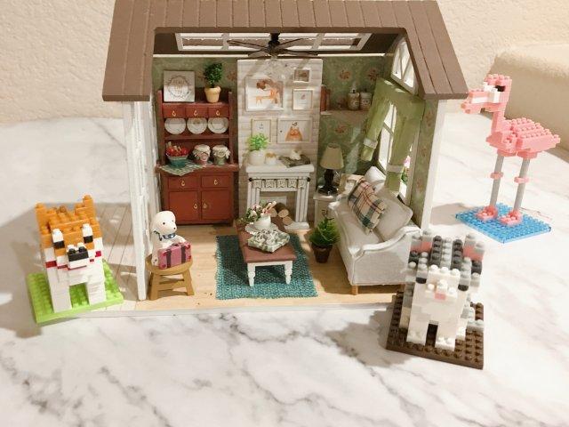 晒货挑战4/1⃣️1⃣️快完工的小房子
