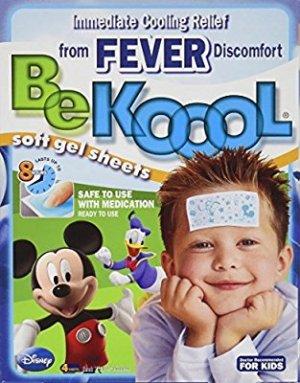 Amazon.com : Be Koool Be Koool Soft Gel Sheets For Kids Pack of 3 : Cold Packs : Beauty