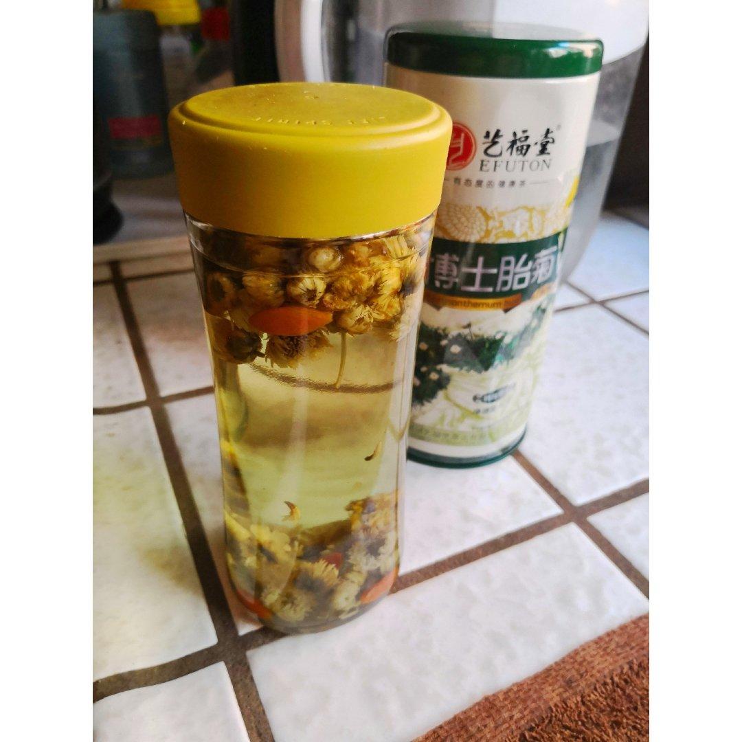 ❹/❺ 胎菊泡茶