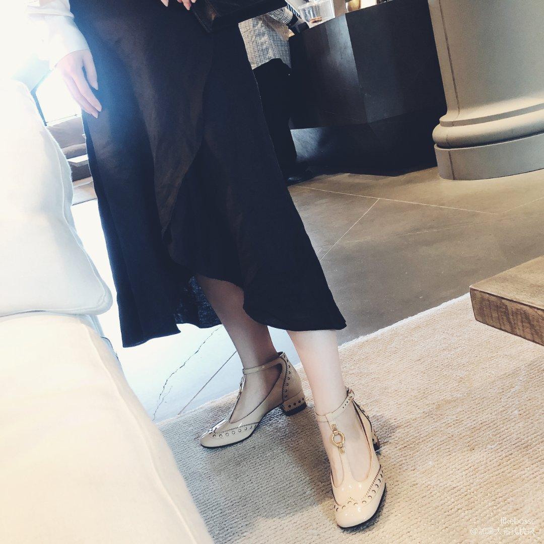 复古方口玛丽珍鞋升级版