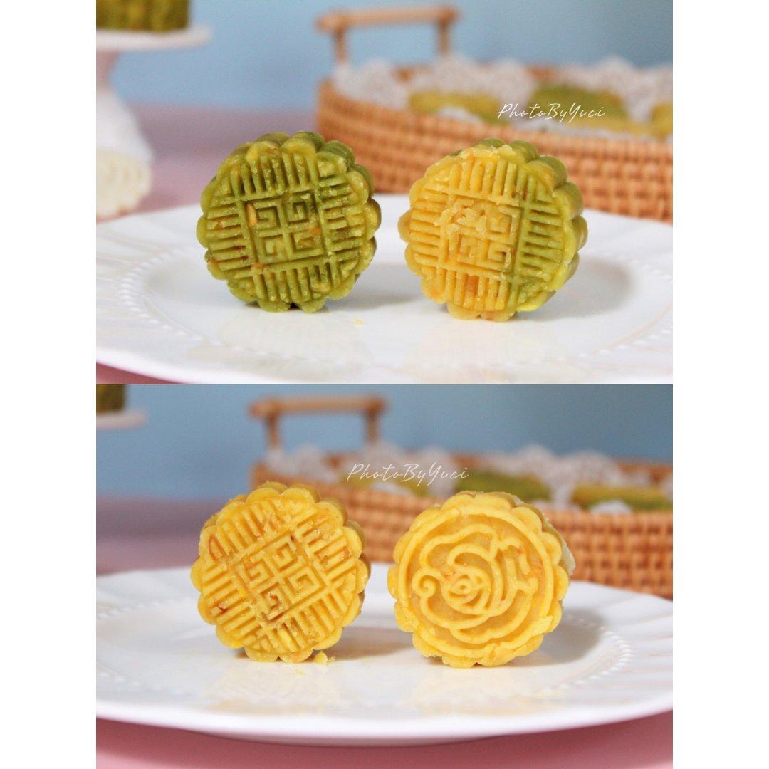 中秋预热篇,先做一份绿豆糕~~🤪
