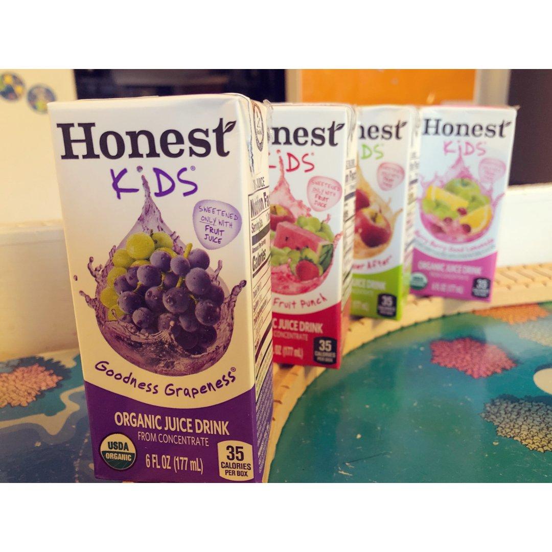 我家的吃药神器-Honest有机果汁🥤