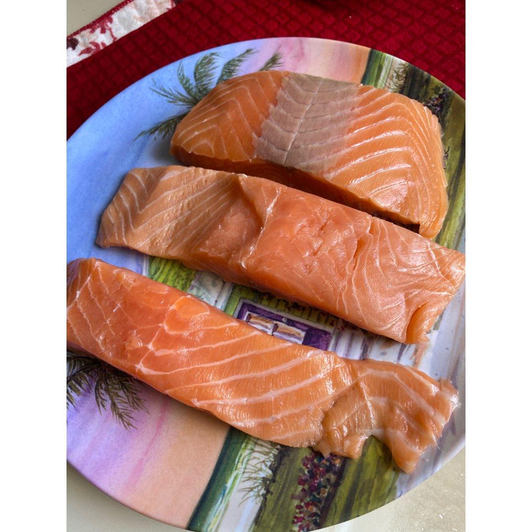 香煎三文鱼😄