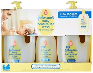 Amazon.com: Johnson's Baby Head-to-Toe Wash (2 - 33.8 fl. oz., 1 - 9 fl. oz.): Health & Personal Care