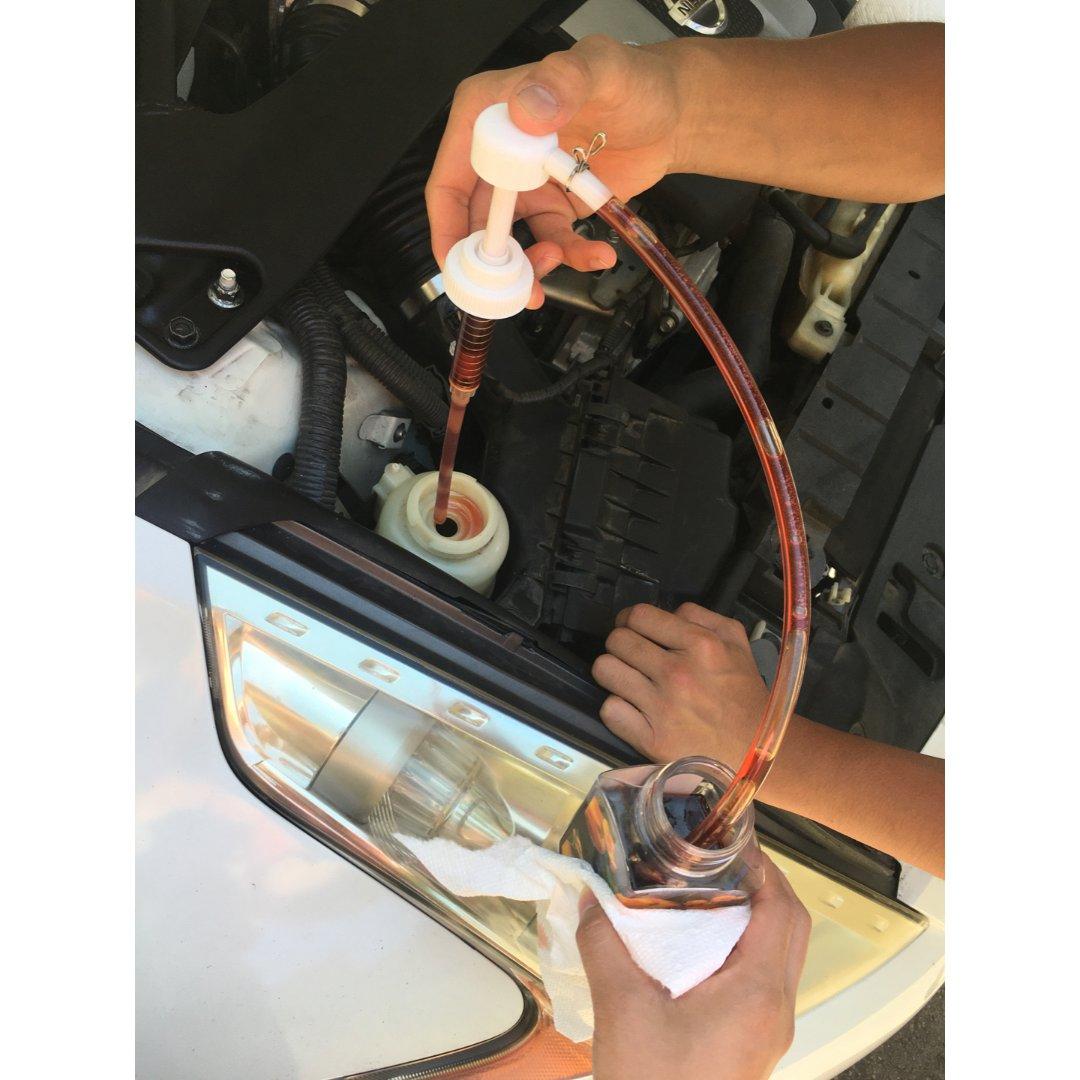 技术贴之更换汽车转向油🚗