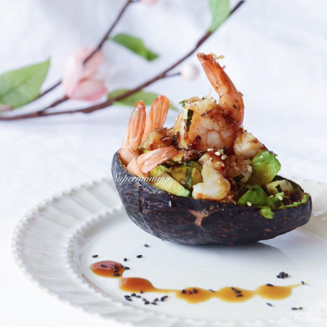 🌸DIY快手日式牛油果虾船🌸<br...