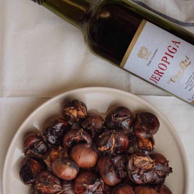 葡萄牙甜酒烤板栗➕绝佳配酒(物种小知识)