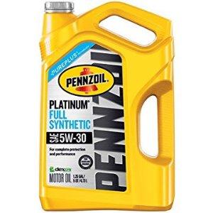 Pennzoil 5W-30白金全合成機油 5夸脫