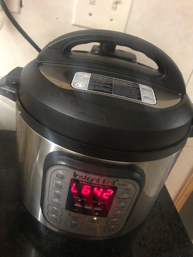 终于买了instant pot,一...