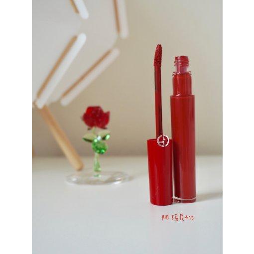 阿玛尼红管415,秋冬一抹浓郁的山楂红~♥️