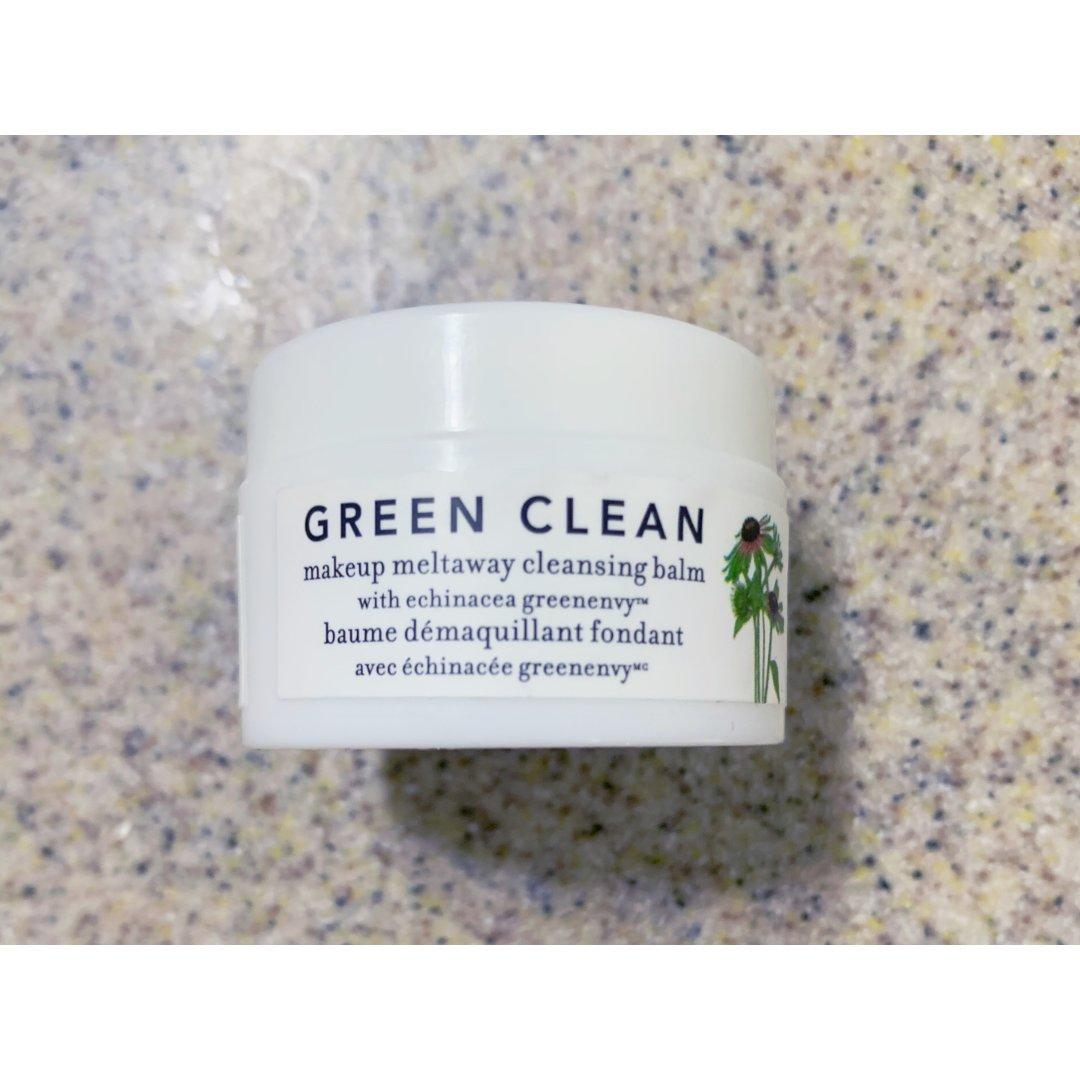 空瓶记//green clean卸妆膏