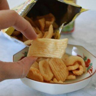 Crab Chips,松化可口,零食不能停