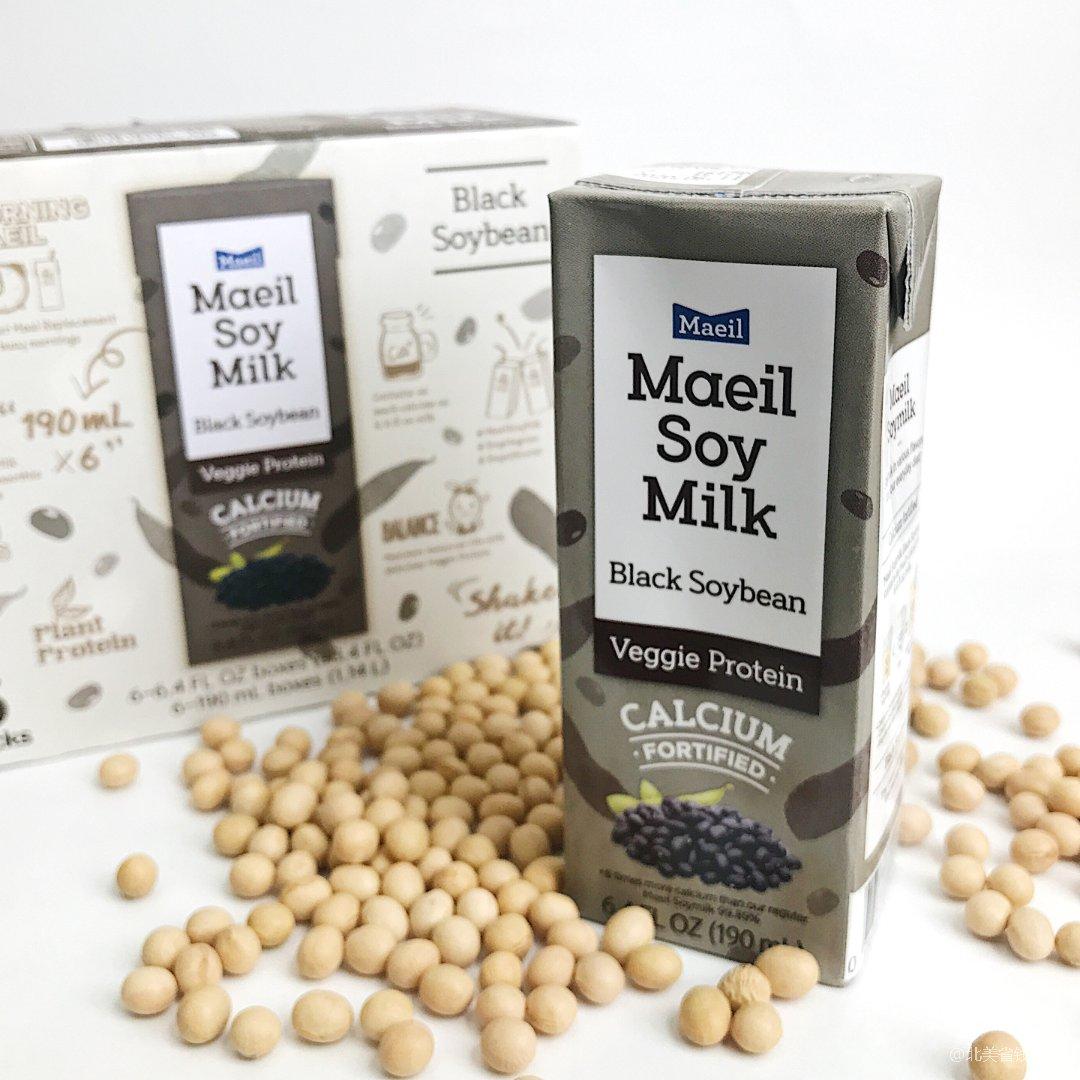 不闲置!|⑧ Maeil低糖加钙黑豆奶