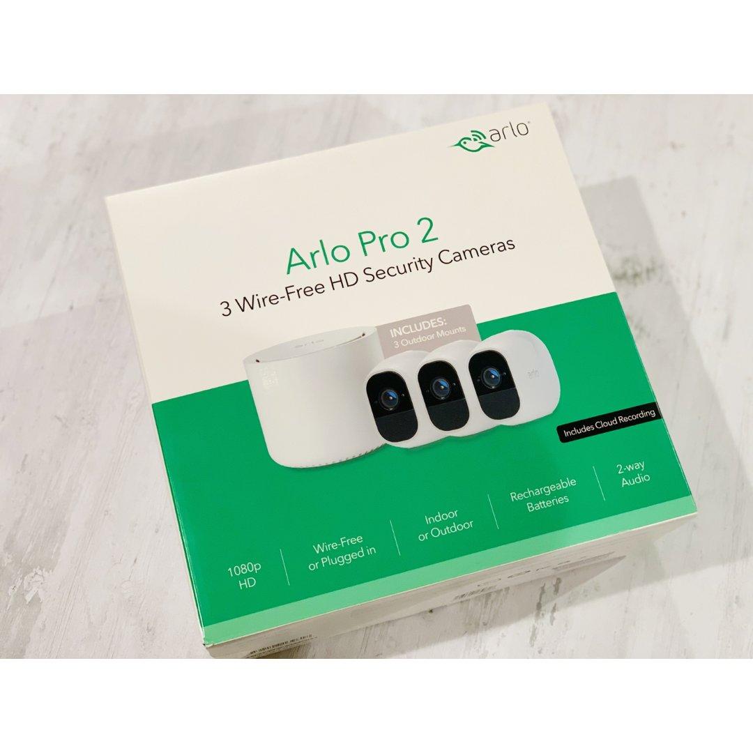 【Arlo pro2】终于入手|折...