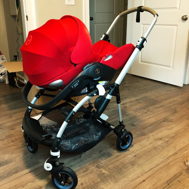 给宝宝买的安全座椅,国内朋友推荐的...