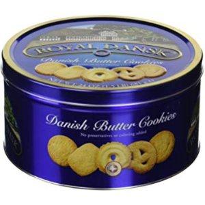 $5.56 送礼体面过人Royal Dansk 丹麦黄油饼干 681g