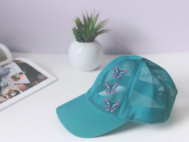 UO缕空刺绣cap帽