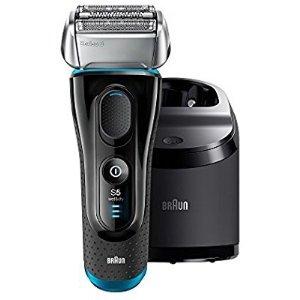 Braun需点击激活$15优惠劵+申请$20邮寄返现5系列 5190cc 电动剃须刀 附自动清洁充电底座