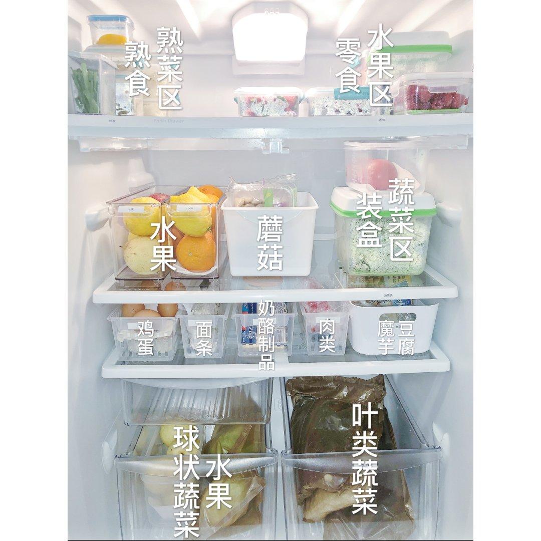 看我的冰箱收纳