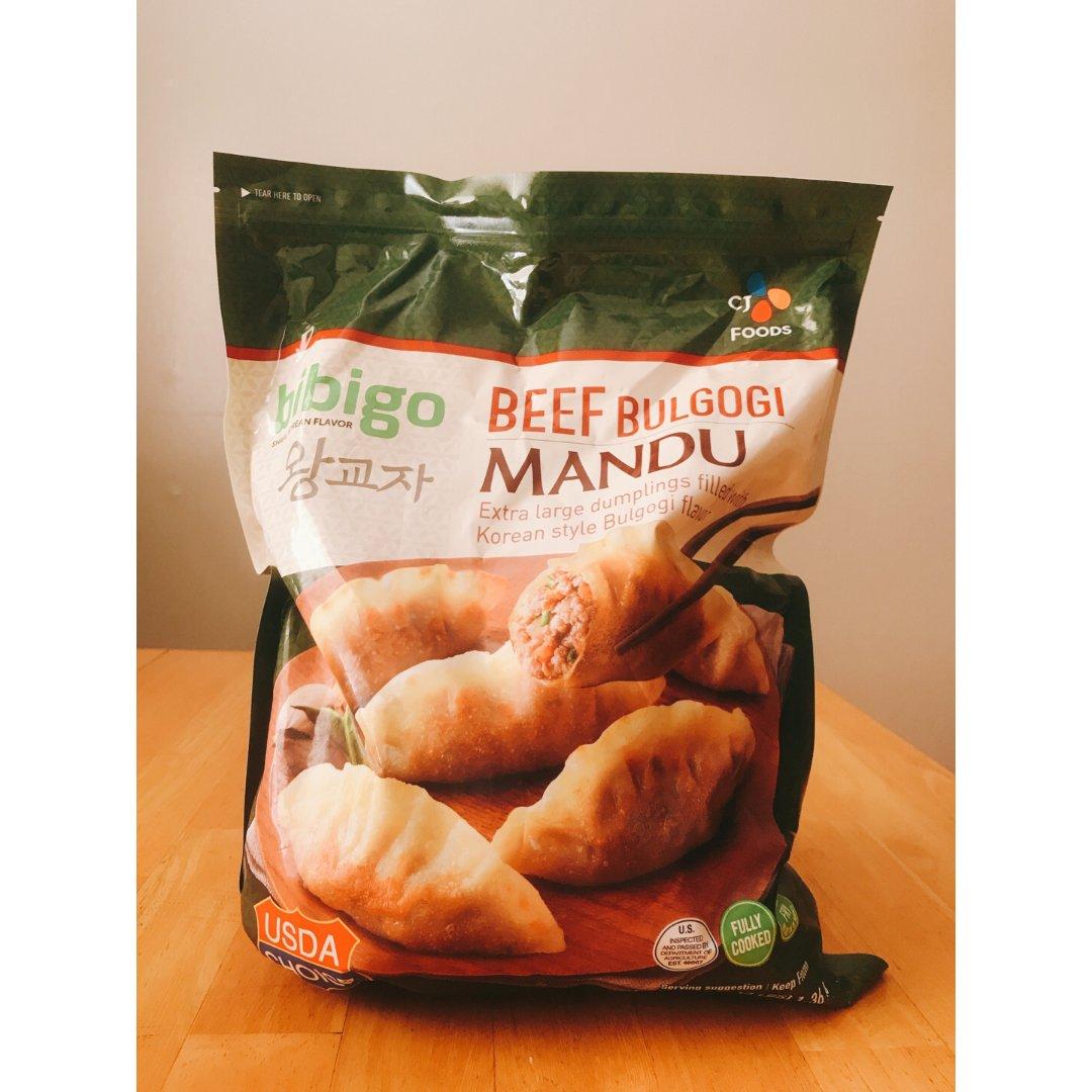 bibigo韩式煎饺
