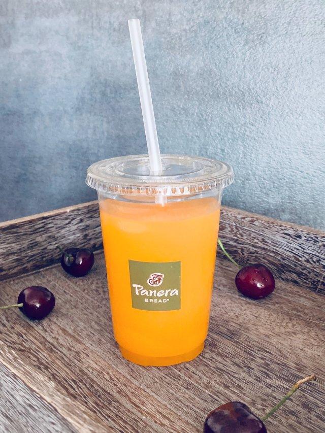 饮品|好喝又营养のPanera血橙柠檬水