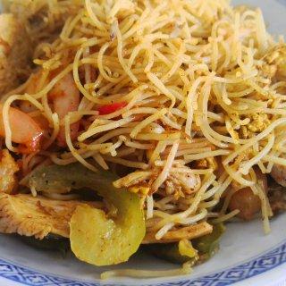 超好吃的新加坡炒面...