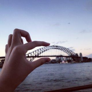 相册里第一次去悉尼时的库存图...