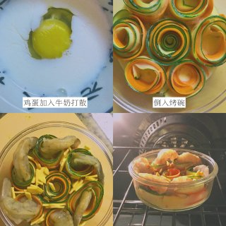 低脂高纤维鲜虾蔬菜卷烘蛋🦐...