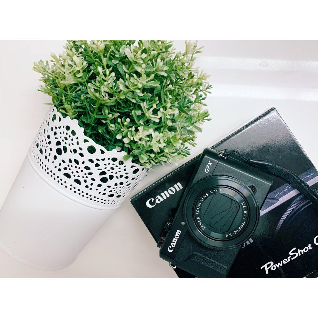 网红vlog神器 Canon G7...