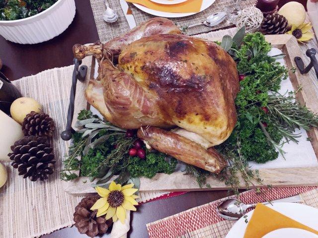 感恩节快乐🎉分享今年的火鸡大餐🦃️