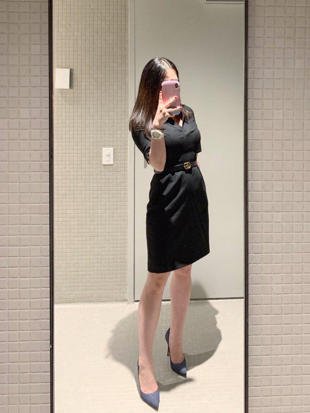 office look | 黑色修...