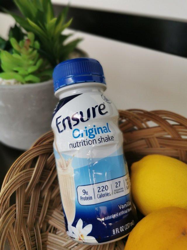 懒人宅家必备:Ensure营养奶昔