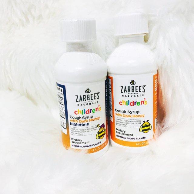 宝宝咳嗽的救星:Zarbee's儿...