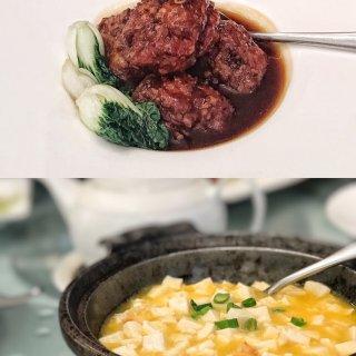 红烧狮子头,蟹粉豆腐