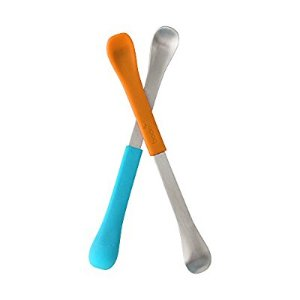 Amazon.com : Boon Swap Baby Utensils, Blue/Orange : Baby Spoons : Baby