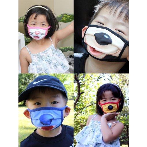 💯可爱满分,尺寸略迷的Disney儿童口罩