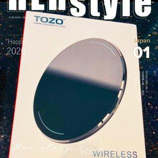 微众测🎉tozo蓝牙手机充电器盘