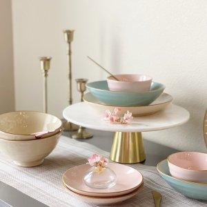 樱花炻瓷餐具10件套